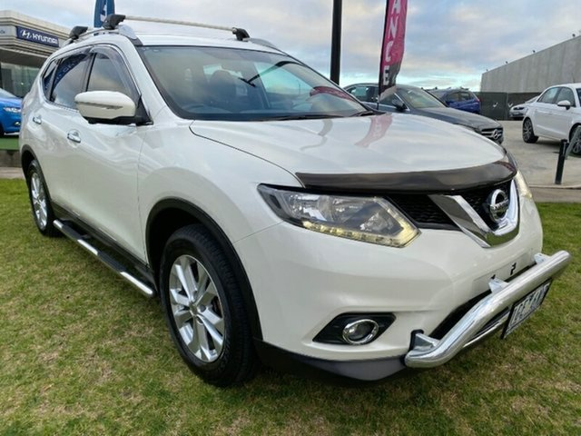 Used Nissan X-Trail T32 ST-L X-tronic 4WD N-TREK Ravenhall, 2015 Nissan X-Trail T32 ST-L X-tronic 4WD N-TREK White 7 Speed Constant Variable Wagon