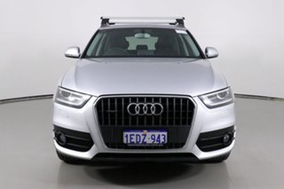 2013 Audi Q3 8U 2.0 TFSI Quattro (125kW) Silver 7 Speed Auto Dual Clutch Wagon.