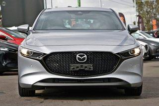 2021 Mazda 3 BP2HLA G25 SKYACTIV-Drive Evolve Silver 6 Speed Sports Automatic Hatchback.