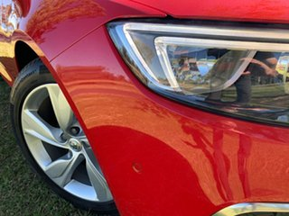 2017 Holden Commodore ZB MY18 RS-V Liftback AWD Absolute Red 9 Speed Sports Automatic Liftback.
