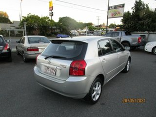 2005 Toyota Corolla ZZE122R Ascent Seca Silver 4 Speed Automatic Hatchback