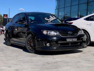 2012 Subaru Impreza G3 MY13 WRX AWD S-Edition Black 5 Speed Manual Sedan.