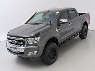 2017 Ford Ranger PX MkII MY17 Update XLT 3.2 (4x4) Grey 6 Speed Manual Double Cab Pick Up