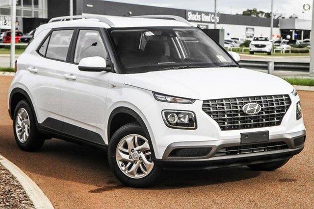 New Hyundai Venue QX.V3 MY21 Oakleigh, 2021 Hyundai Venue QX.V3 MY21 White 6 Speed Automatic Wagon