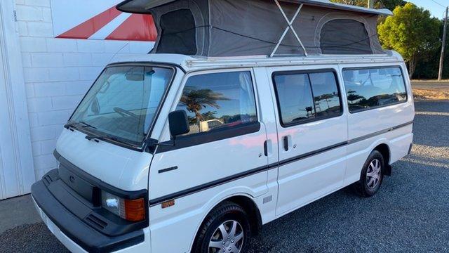 Used Mazda E2000 Deluxe (LWB) Bundaberg, 1994 Mazda E2000 Deluxe (LWB) White 5 Speed Manual Van