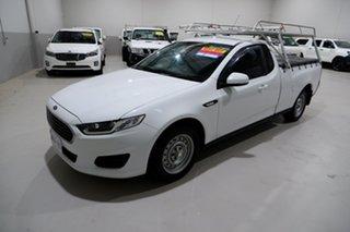 2015 Ford Falcon FG X Ute Super Cab White 6 Speed Sports Automatic Utility.