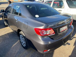 2010 Toyota Corolla ZRE152R MY10 Ascent Grey 6 Speed Manual Sedan.