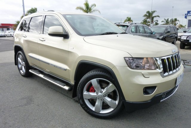 Used Jeep Grand Cherokee WK MY2012 Limited Cheltenham, 2012 Jeep Grand Cherokee WK MY2012 Limited Gold 5 Speed Sports Automatic Wagon