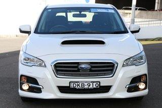 2016 Subaru Levorg V1 MY17 2.0 GT CVT AWD White 8 Speed Constant Variable Wagon