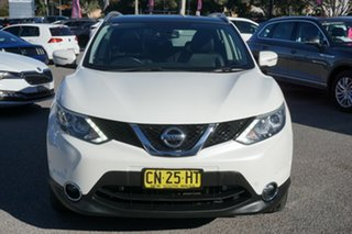 2014 Nissan Qashqai J11 TI White 1 Speed Constant Variable Wagon.
