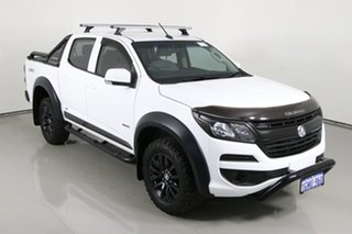 2018 Holden Colorado RG MY18 LS-X Special Edition White 6 Speed Automatic Crew Cab Utility
