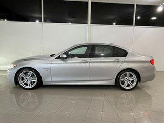 2016 BMW 5 Series F10 LCI 535d Steptronic M Sport Silver, Chrome 8 Speed Sports Automatic Sedan