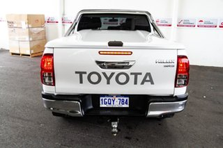 2015 Toyota Hilux GUN126R SR5 Double Cab Crystal Pearl 6 Speed Sports Automatic Utility
