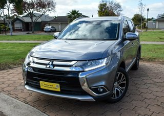 2017 Mitsubishi Outlander ZK MY17 LS 4WD Grey 6 Speed Constant Variable Wagon.