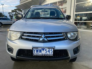 2012 Mitsubishi Triton MN MY12 GLX 4x2 Silver 4 Speed Automatic Utility