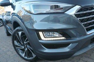 2020 Hyundai Tucson TL3 MY21 Highlander (AWD) Pepper Grey 8 Speed Automatic Wagon.