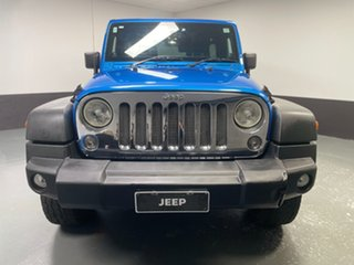 2013 Jeep Wrangler JK MY2014 Unlimited Sport Blue 5 Speed Automatic Softtop.