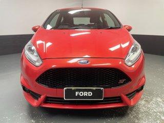 2016 Ford Fiesta WZ ST Molten Orange 6 Speed Manual Hatchback.