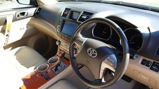 2009 Toyota Kluger GSU40R Grande (FWD) Black 5 Speed Automatic Wagon