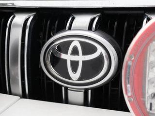 2017 Toyota Landcruiser Prado GDJ150R MY16 Kakadu (4x4) White 6 Speed Automatic Wagon