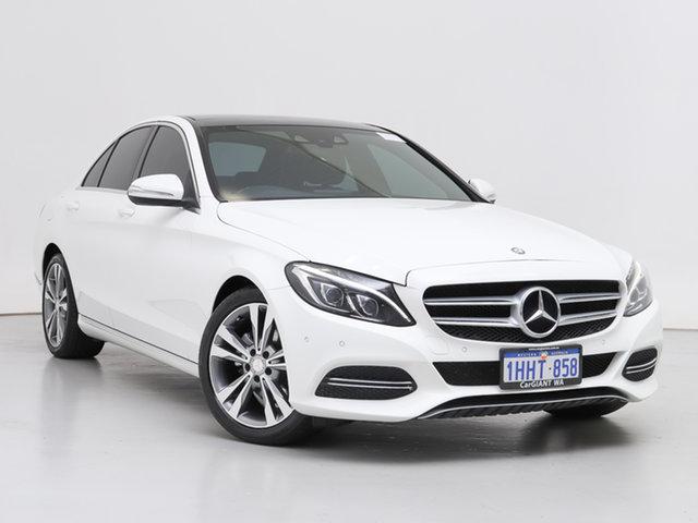 Used Mercedes-Benz C200 205 BlueTEC, 2015 Mercedes-Benz C200 205 BlueTEC White 7 Speed Automatic Sedan