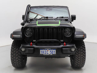 2019 Jeep Wrangler Unlimited JL MY19 Rubicon (4x4) Black 8 Speed Automatic Hardtop.