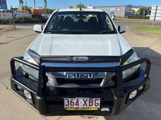 2016 Isuzu D-MAX MY17 SX Crew Cab White/240217 6 Speed Sports Automatic Utility