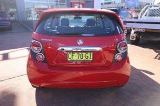 2015 Holden Barina TM MY15 CD Red 5 Speed Manual Hatchback