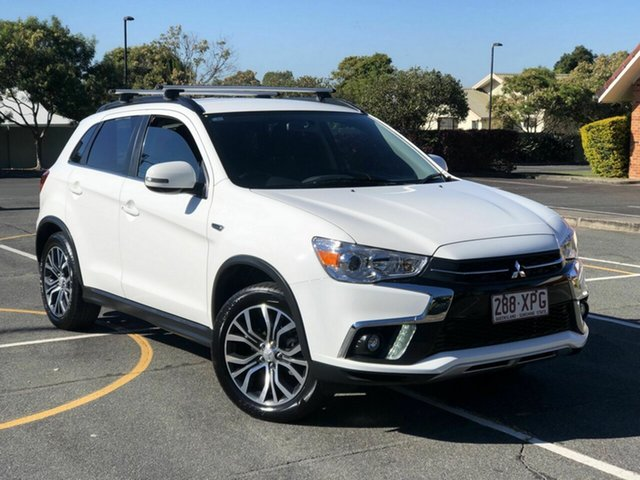 Used Mitsubishi ASX XC MY18 LS 2WD Chermside, 2017 Mitsubishi ASX XC MY18 LS 2WD White 5 Speed Manual Wagon
