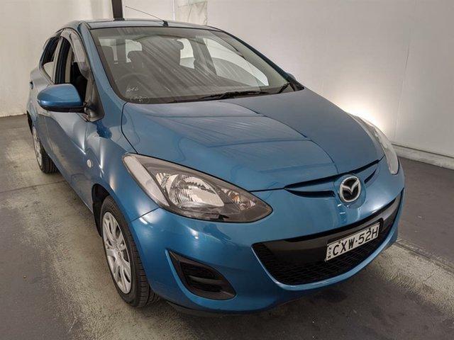 Used Mazda 2 DE10Y2 MY13 Neo Maryville, 2013 Mazda 2 DE10Y2 MY13 Neo Blue 4 Speed Automatic Hatchback