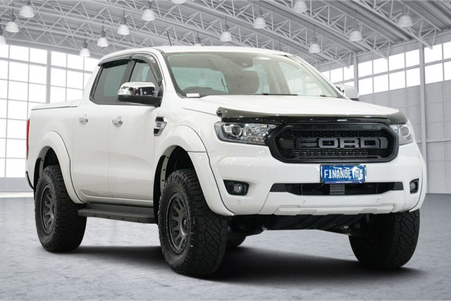 Used Ford Ranger PX MkIII 2019.00MY XLT Victoria Park, 2019 Ford Ranger PX MkIII 2019.00MY XLT White 10 Speed Sports Automatic Double Cab Pick Up