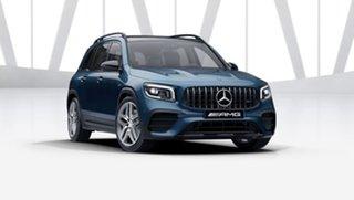2021 Mercedes-Benz GLB-Class X247 801MY GLB35 AMG SPEEDSHIFT DCT 4MATIC Denim Blue 8 Speed