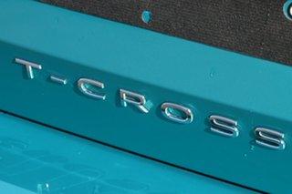 2021 Volkswagen T-Cross C1 MY21 85TSI DSG FWD Style Green 7 Speed Sports Automatic Dual Clutch Wagon
