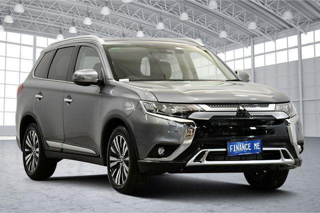 Used Mitsubishi Outlander ZL MY19 Exceed AWD Victoria Park, 2019 Mitsubishi Outlander ZL MY19 Exceed AWD Titanium 6 Speed Sports Automatic Wagon