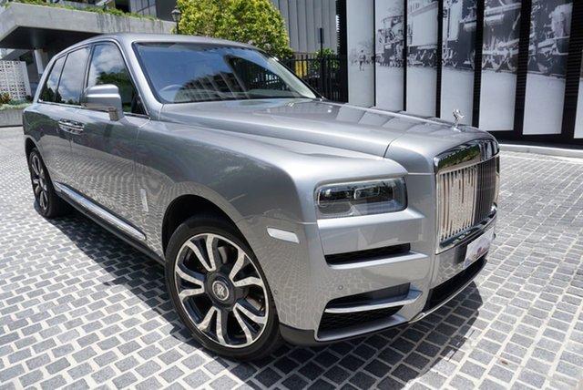 Used Rolls-Royce Cullinan RR31 East Brisbane, 2019 Rolls-Royce Cullinan RR31 No Badge Jubilee Silver 8 Speed Automatic Wagon