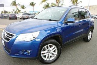 2009 Volkswagen Tiguan 5N MY10 103TDI 4MOTION Blue 6 Speed Sports Automatic Wagon.