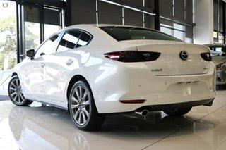 2021 Mazda 3 BP2SLA G25 SKYACTIV-Drive Evolve White 6 Speed Sports Automatic Sedan
