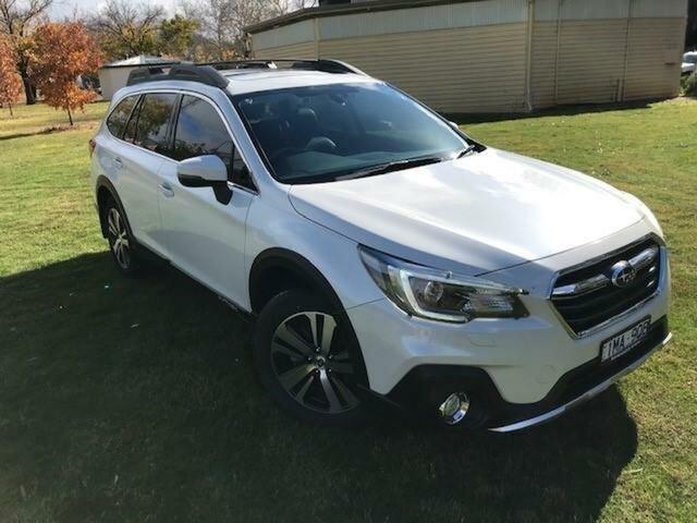 Used Subaru Outback MY18 2.0D Premium AWD Wangaratta, 2018 Subaru Outback MY18 2.0D Premium AWD White Continuous Variable Wagon