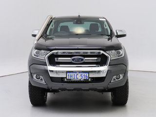 2017 Ford Ranger PX MkII MY17 Update XLT 3.2 (4x4) Grey 6 Speed Manual Double Cab Pick Up.