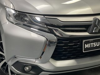 2017 Mitsubishi Pajero Sport QE MY17 GLS Silver 8 Speed Sports Automatic Wagon.