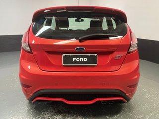 2016 Ford Fiesta WZ ST Molten Orange 6 Speed Manual Hatchback