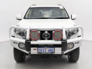 2017 Toyota Landcruiser Prado GDJ150R MY16 Kakadu (4x4) White 6 Speed Automatic Wagon.