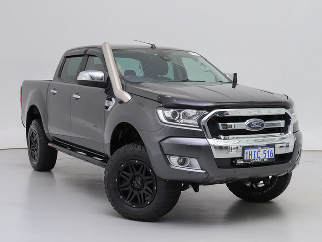 Used Ford Ranger PX MkII MY17 Update XLT 3.2 (4x4), 2017 Ford Ranger PX MkII MY17 Update XLT 3.2 (4x4) Grey 6 Speed Manual Double Cab Pick Up