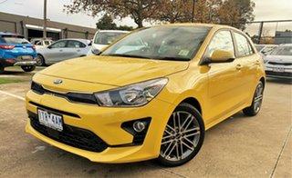 2021 Kia Rio YB MY21 Sport Mighty Yellow 6 Speed Automatic Hatchback.