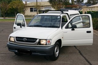 2002 Toyota Hilux RZN149R White 5 Speed Manual Pickup