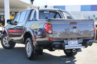 2013 Mitsubishi Triton MN MY13 GLX-R Double Cab Ironbark 5 Speed Manual Utility.