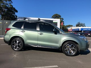 2014 Subaru Forester S4 MY14 XT Lineartronic AWD Premium Green 8 Speed Constant Variable Wagon.