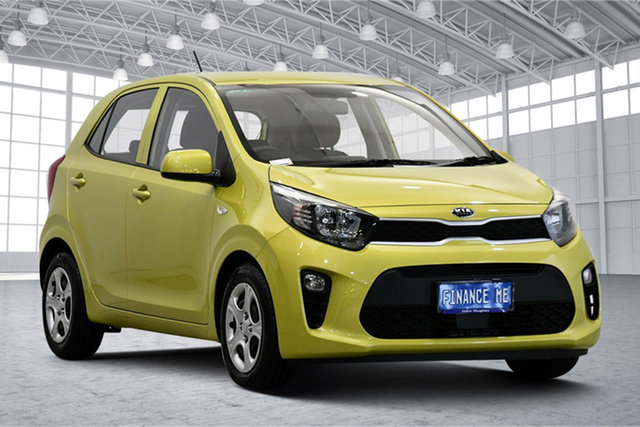 Used Kia Picanto JA MY19 S Victoria Park, 2019 Kia Picanto JA MY19 S Green 4 Speed Automatic Hatchback