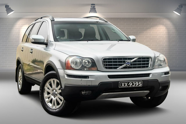 Used Volvo XC90 P28 MY07 D5 Gepps Cross, 2007 Volvo XC90 P28 MY07 D5 Silver 6 Speed Sports Automatic Wagon