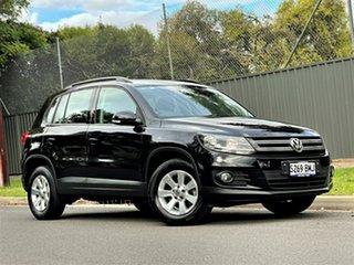 2012 Volkswagen Tiguan 5N MY13 132TSI Tiptronic 4MOTION Pacific Black 6 Speed Sports Automatic Wagon.